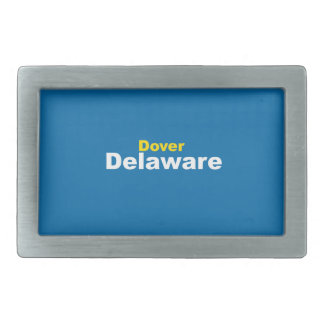 Dover, Delaware Belt Buckle