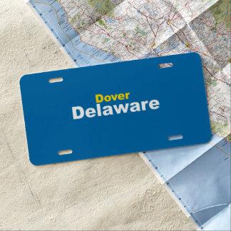 Dover, Delaware License Plate