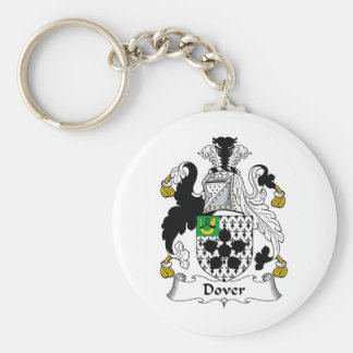 Dover Family Crest Keychain