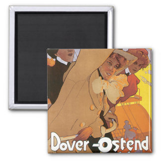 Dover-Ostend Line Magnet