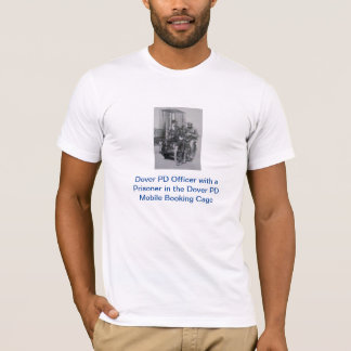 Dover PD Mobile Booking Cage: T-Shirt (White)