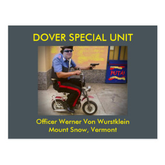 Dover Special Unit #5: Postcards