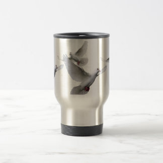Doves 15 Oz Stainless Steel Travel Mug