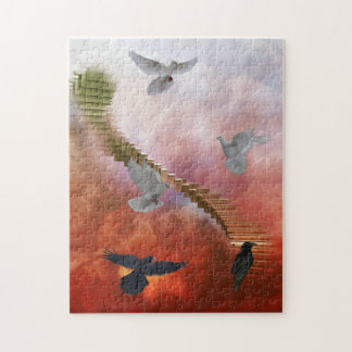 Doves and Ravens Puzzle