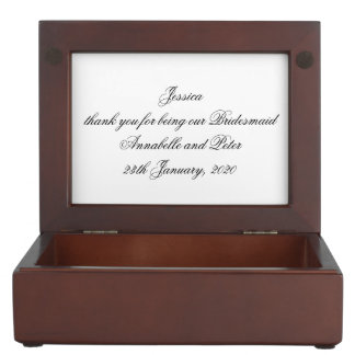 Doves and Rings Keepsake Box