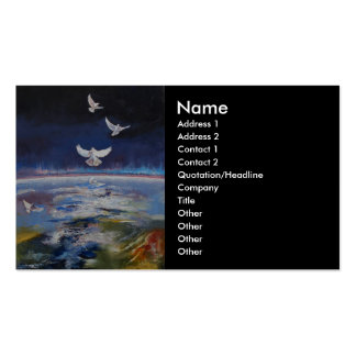 Doves Business Card Template
