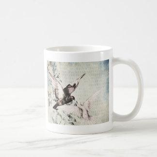 Doves Classic White Coffee Mug