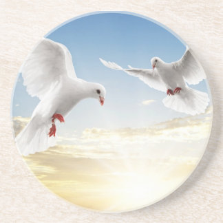 Doves Drink Coasters