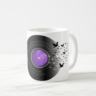 Doves Cry Record Coffee Mug