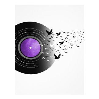 Doves Cry Record Letterhead