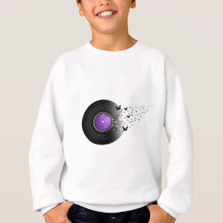 Doves Cry Record Sweatshirt