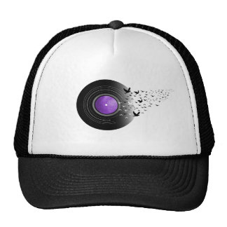 Doves Cry Record Trucker Hat