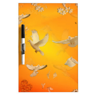 Doves Dry-Erase Whiteboards