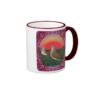 Doves Framed Mugs