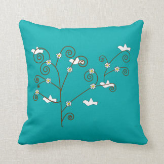 Doves in a Tree Pillow