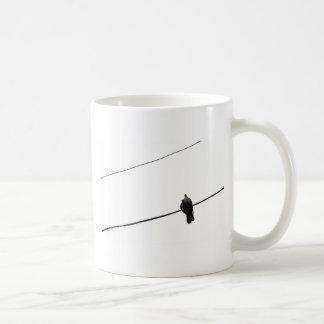 Doves in love coffee mug