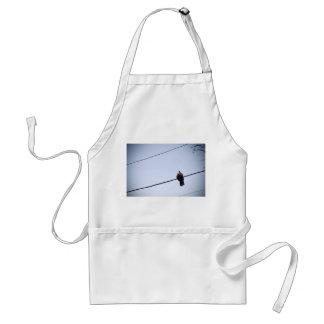 Doves in love standard apron