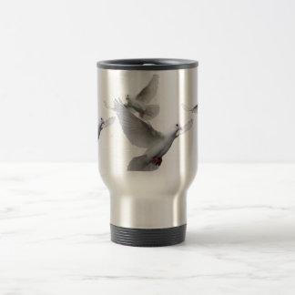 Doves 15 Oz Stainless Steel Travel Mug