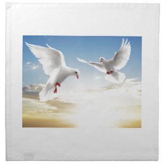 Doves Printed Napkins