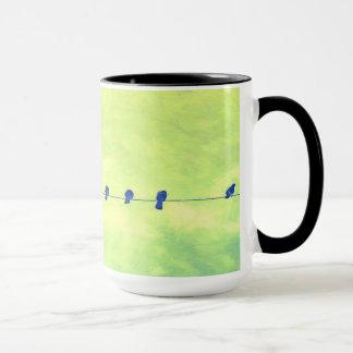 Doves on aWire Mug