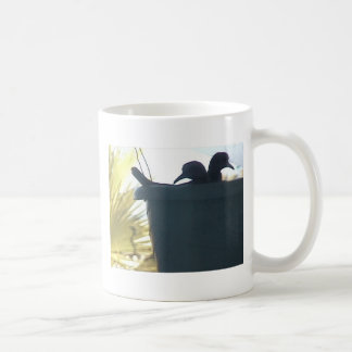 Dove's Paradise Classic White Coffee Mug