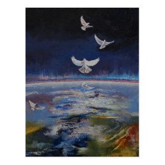Doves Postcard