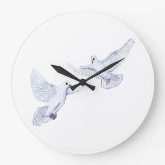 DOVES WALL CLOCK