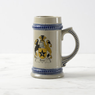 Dow Family Crest Beer Stein