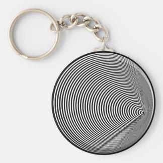 Down a Pipe Basic Round Button Keychain