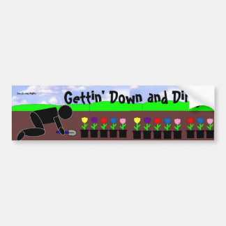 Down and Dirty Bumper Sticker
