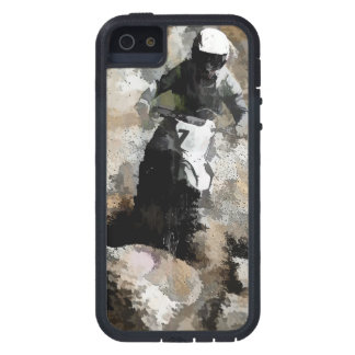 Down and Dirty! - Motocross Racer iPhone 5 Cover
