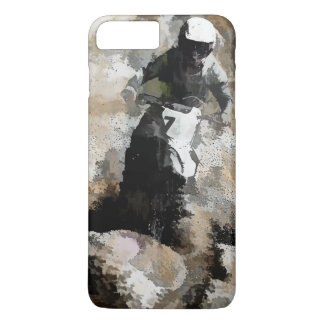 Down and Dirty! - Motocross Racer iPhone 8 Plus/7 Plus Case