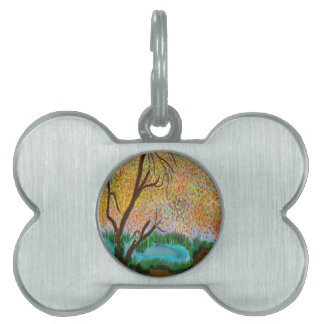 down by the pond pet name tags