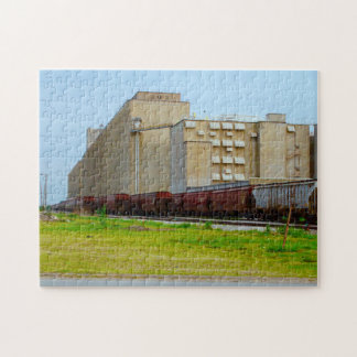 Down by the Tracks Jigsaw Puzzle