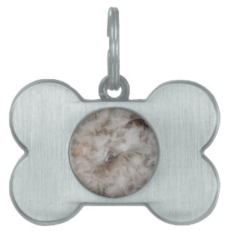 Down Comforter Feathers Photography Funny Pet Tag