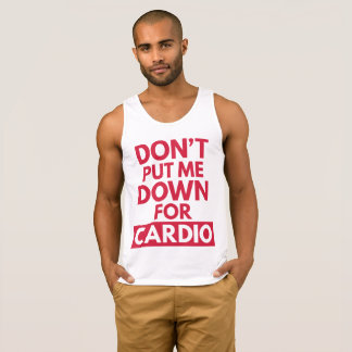 Down for Cardio Funny Gym Quote