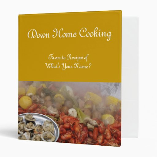 Down Home Cooking Binder