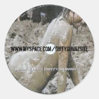Down N' Dirty Sticker