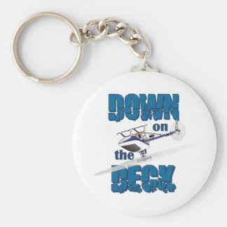 Down on the Deck Keychain