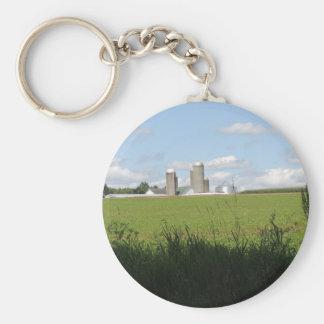 Down on The Farm Key Chains