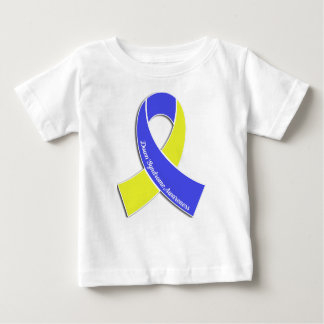 Down Syndrome Awareness Ribbon Baby T-Shirt