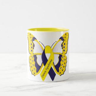 Down Syndrome Awareness Two-Tone Coffee Mug