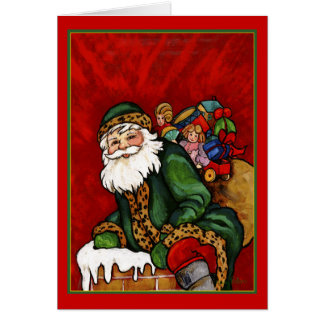 DOWN THE CHIMNEY CARD