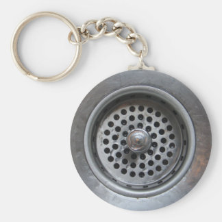 Down the Drain Keychain