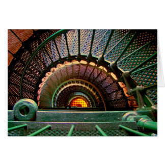 """""""Down the Lighthouse Staircase"""" Card"""