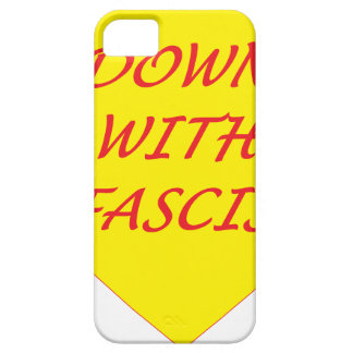 Down with Fascism Case For The iPhone 5