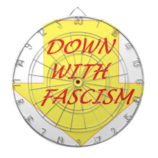 Down with Fascism Dartboard