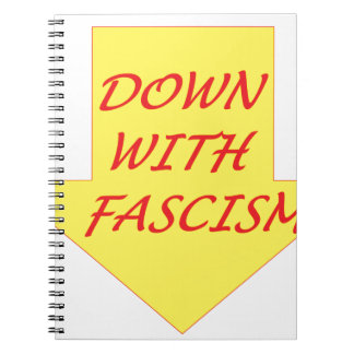Down with Fascism Notebooks