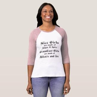 DownEast Girls funny t-shirt