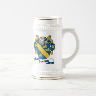 Downey Family Crest Beer Stein